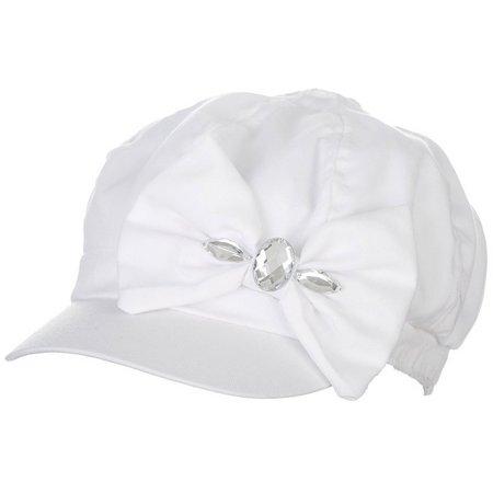 Bay Studio Womens Bow & Stone Cabby Hat