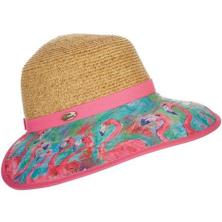 Leoma Lovegrove Womens Pink Power Face Framer Hat
