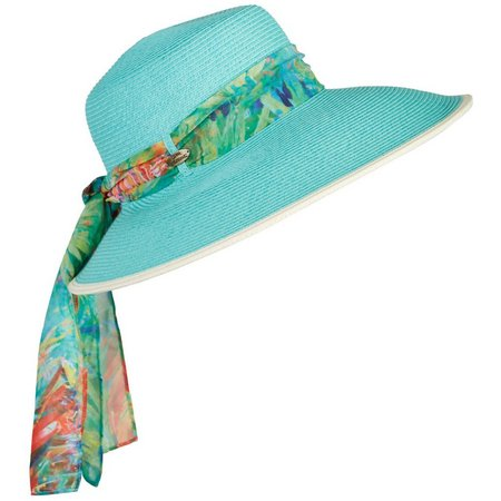 Leoma Lovegrove Womens Palms Away Floppy Hat