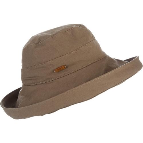 Caribbean Joe Womens Solid Up Brim Hat Bealls Florida