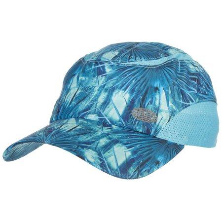 Reel Legends Womens Palm Frond Print Baseball Hat