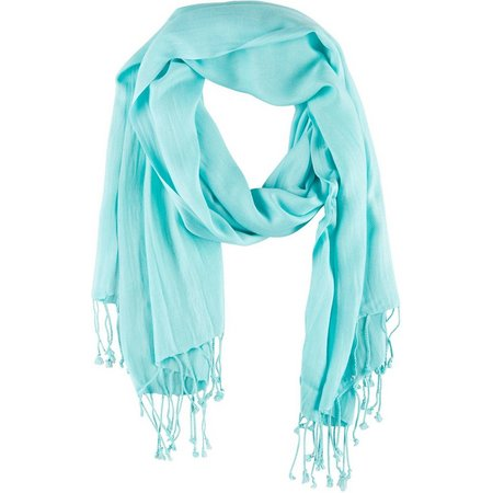 Betseyville Womens Solid Twill Scarf