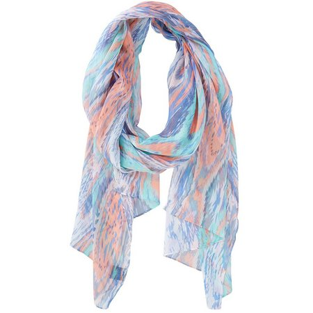 Betseyville Womens Abstract Paisley Scarf