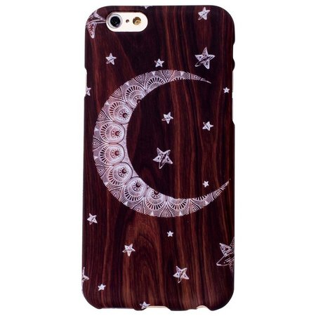 ANKIT Wood Moon & Star Phone Case