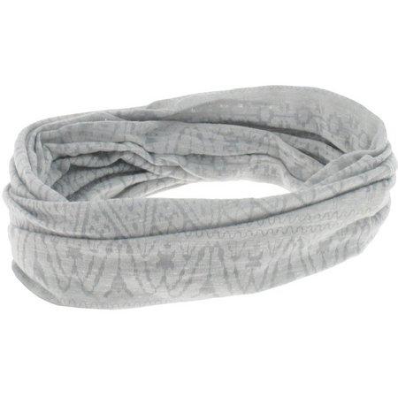 Capelli Womens Light Grey Tribal Print Headband