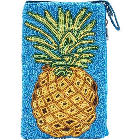 Bamboo Trading Co. Pineapple Club Bag Crossbody Handbag