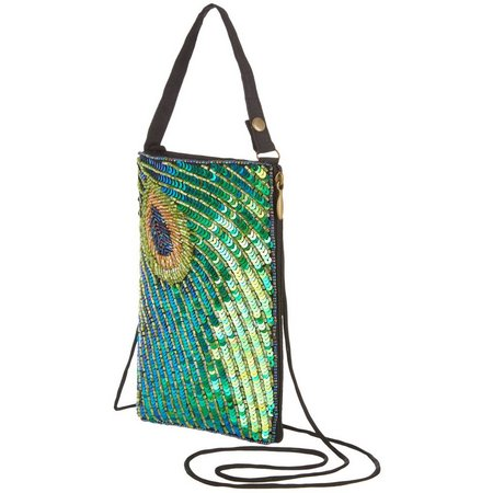 Bamboo Trading Co. Fancy Peacock Handbag