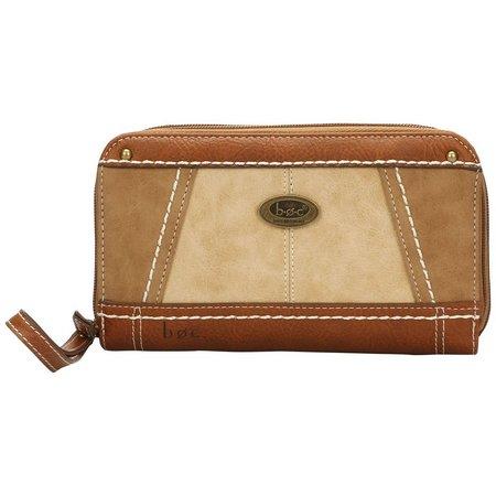 B.O.C. Round Rock Zip Around Wristlet Wallet