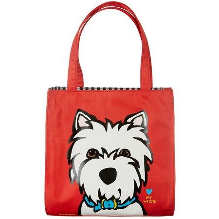 Marc Tetro Westie Tote Handbag