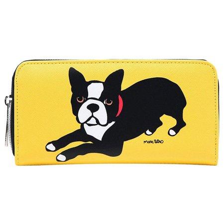 Marc Tetro Boston Terrier Large Wallet