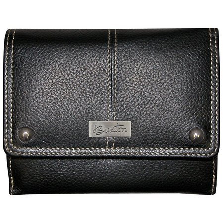 Buxton Womens Buttersoft Pebble Grain Wallet