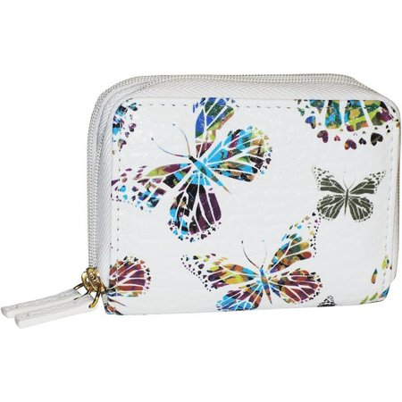 Buxton Butterfly RFID Wizard Wallet