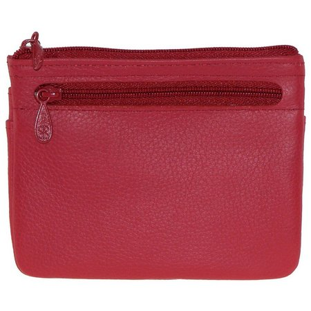 Buxton Womens Hudson ID Card Coin Wallet