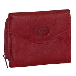 Buxton Heiress Leather Zip French Purse