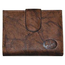 Buxton Heiress Crunch Leather Wallet