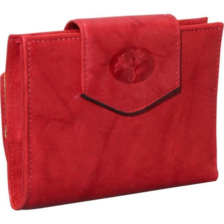 Buxton Leather Cardex Attache Clutch Wallet