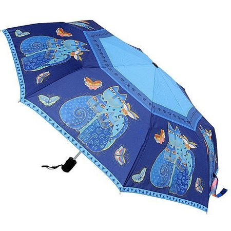 Laurel Burch Indigo Cats Umbrella