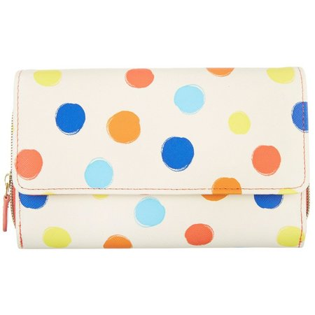 Mundi Polka Dots RFID Big Fat Wallet