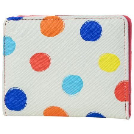 Mundi Dots RFID Mini Bifold Wallet