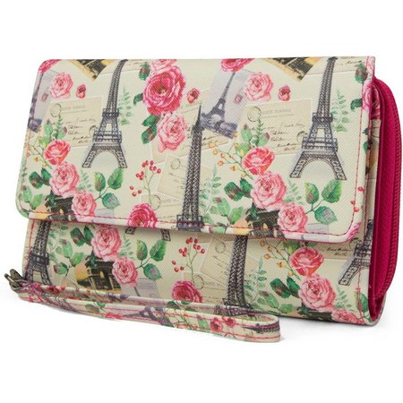 Mundi Big Fat Alway Paris Wristlet Wallet
