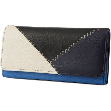 Nautica Sail Patch Money Manager Wallet