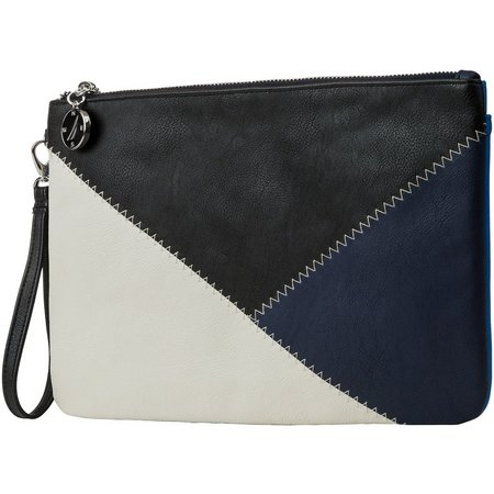 Nautica Sail Patch Oversized Wristlet