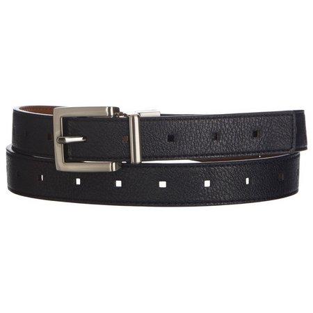 Bay Studio Womens Perforated Reversible Belt