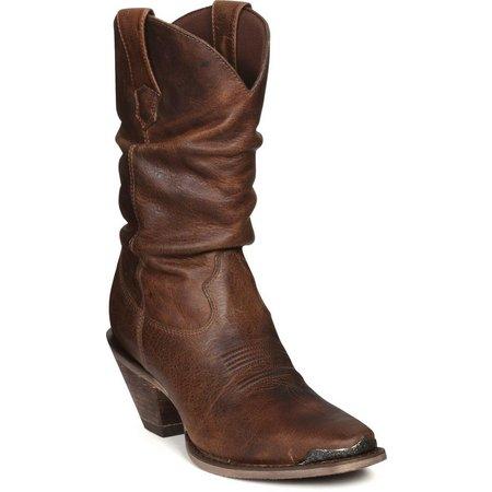 Durango Womens Crush Slouch Cowboy Boots