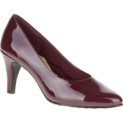 Soft Style Womens Raylene Red Pumps
