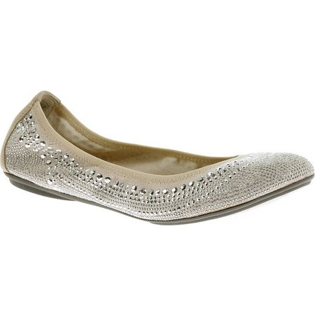 Hush Puppies Womens Chaste Ballet Studded Flats