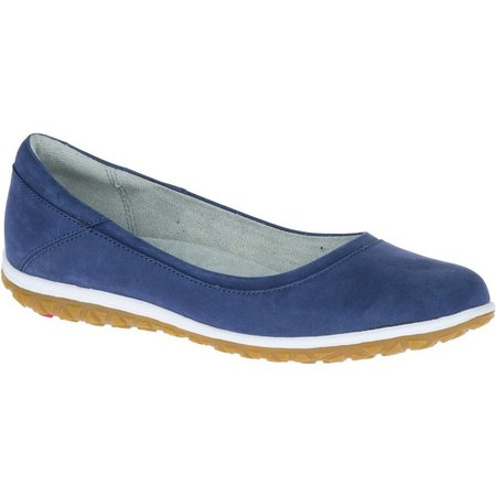 Hush Puppies Womens Berkleigh Audra Nubuck Flats