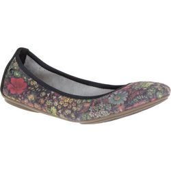 Hush Puppies Womens Chaste Ballet Floral Flats