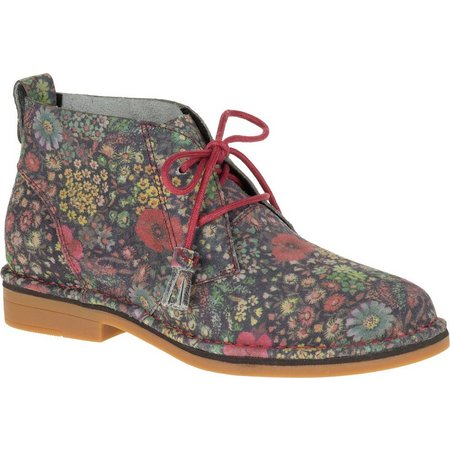 Hush Puppies Womens Cyra Catelyn Floral Booties