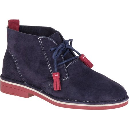 Hush Puppies Womens Cyra Catelyn Navy Ankle Boots