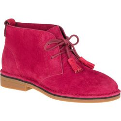 Hush Puppies Womens Cyra Catelyn Red Ankle Boots
