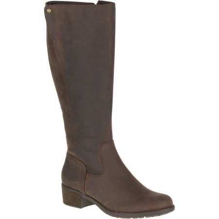 Hush Puppies Womens Polished Overton Tall Boots