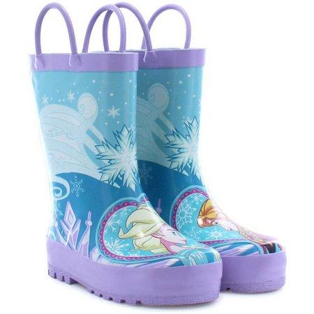 Disney Elsa & Anna Little Girls Rain Boots