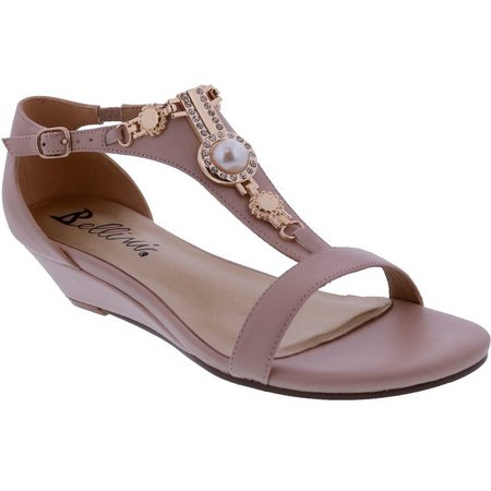 Bellini Womens Lynn Wedge Sandals