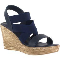 Easy Street Womens Felisa Wedge Sandals