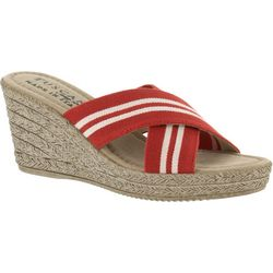 Easy Street Womens Malone Wedge Sandals