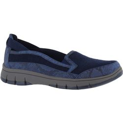 Easy Street Womens Kacey Snake Memory Foam Shoes