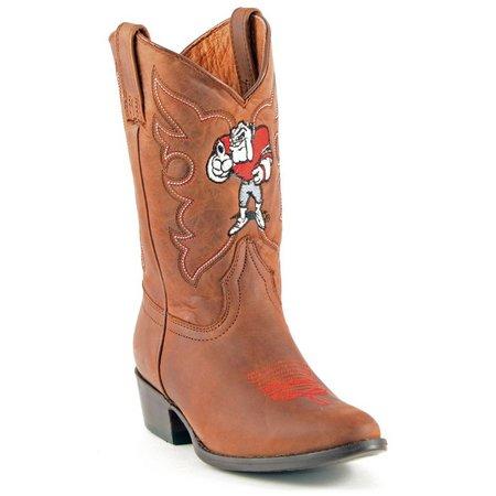 Gameday Georgia Bulldogs Boys Cowboy Boots