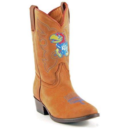 Gameday Kansas Jayhawks Boys Cowboys Boots