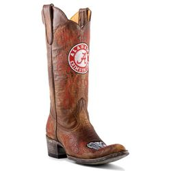 Gameday BAMA Crimson Tide Womens Cowboy Boots