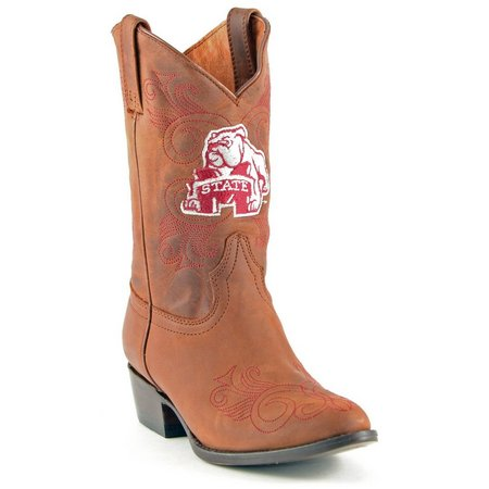 Gameday Mississippi State Girls Cowboy Boots