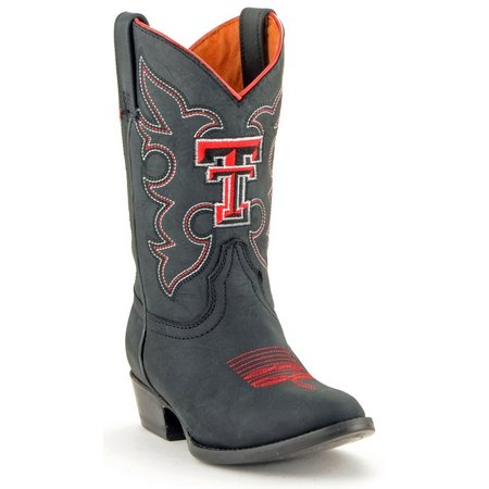 Gameday Texas Tech Red Raiders Boys Cowboy Boots
