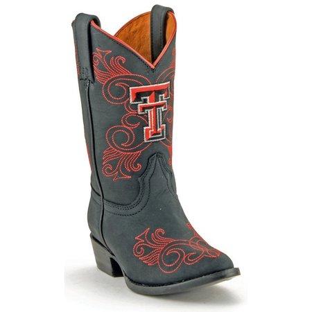 Gameday Texas Tech Red Raiders Girls Cowboy Boots