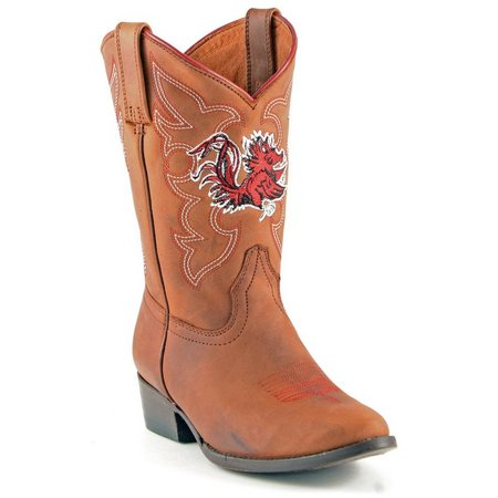 Gameday South Carolina Boys Cowboy Boots