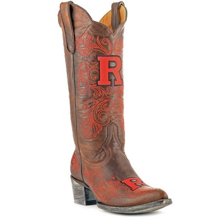 Gameday Rutgers Knights Womens Cowboy Boots