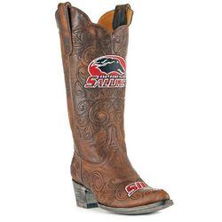 Gameday South Illinois Salukis Womens Cowboy Boots